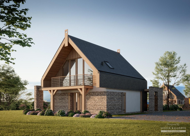 Projekt domu LK&1637