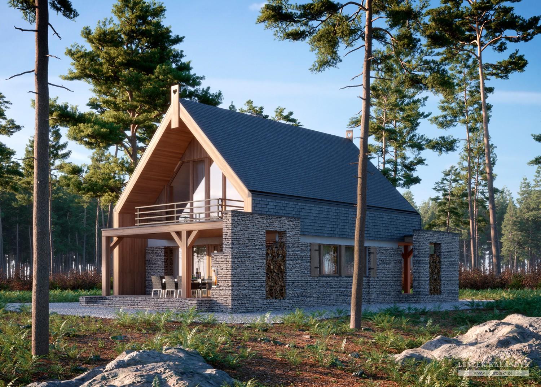 Projekt domu LK&1638