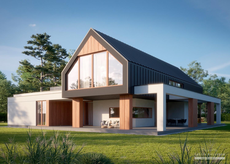 Projekt domu LK&1643