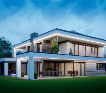 Projekt domu LK&1648