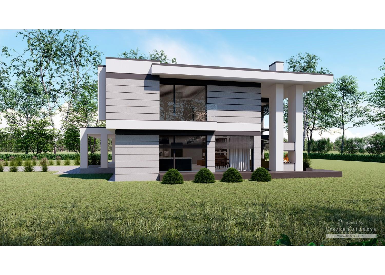 Projekt domu LK&1654