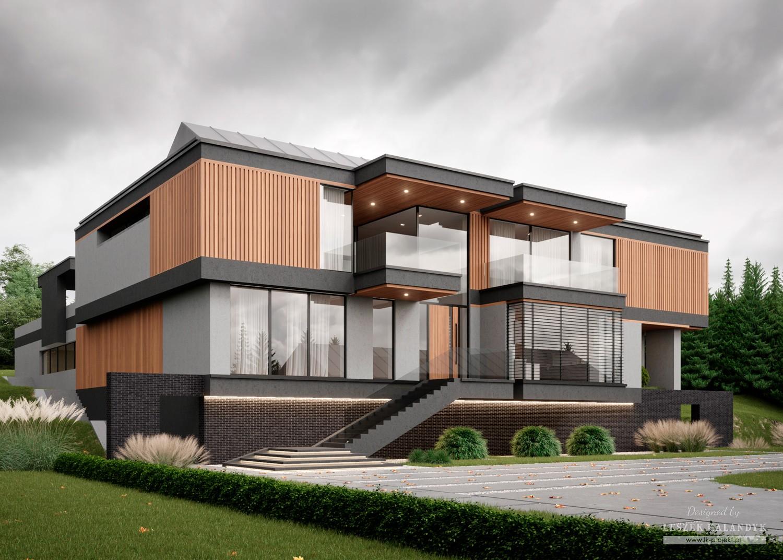 Projekt domu LK&1656