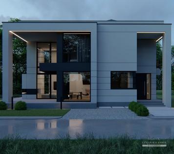Projekt domu LK&1661