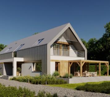 Projekt domu LK&1680
