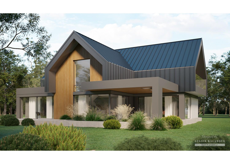 Projekt domu LK&1688