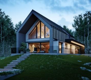 Projekt domu LK&1692