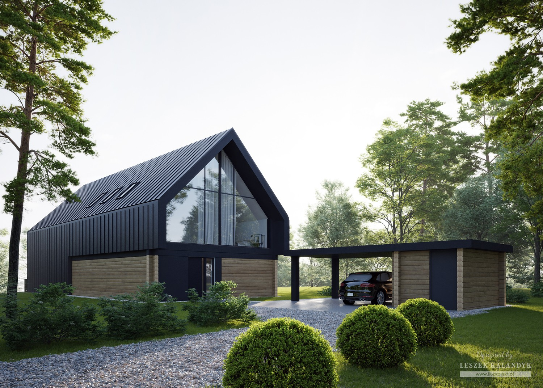 Projekt domu LK&1693