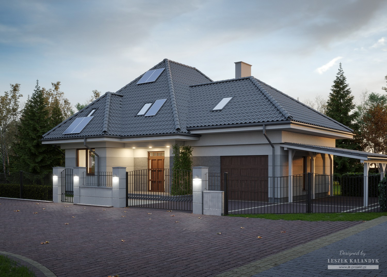 Projekt modernizacji elewacji LK&1694
