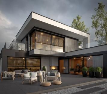 Projekt domu LK&1695