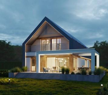 Projekt domu LK&1705