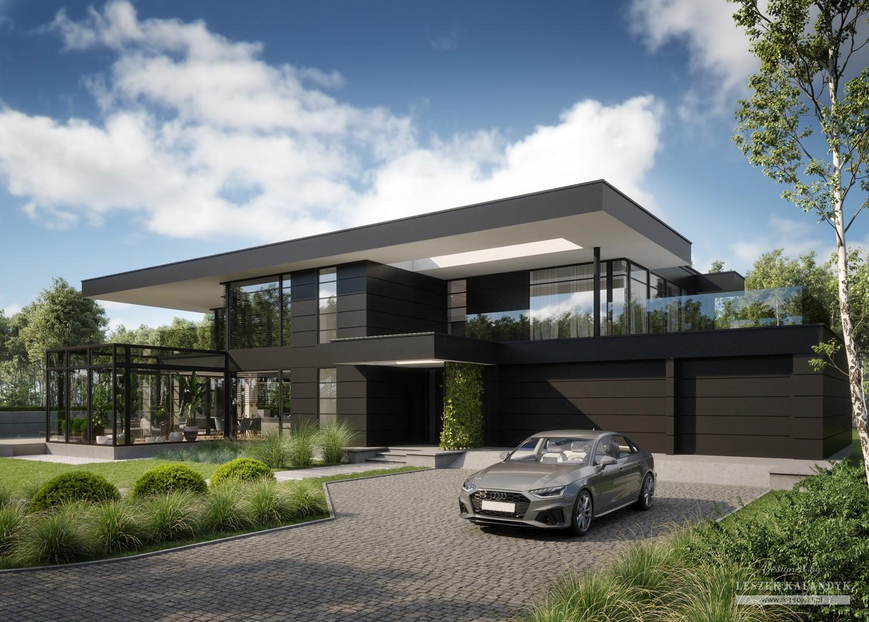 Projekt domu LK&1708