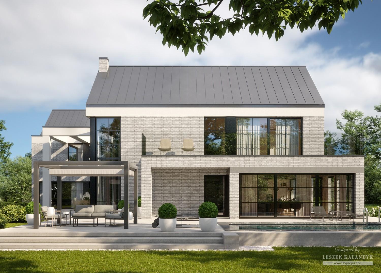 Projekt domu LK&1709
