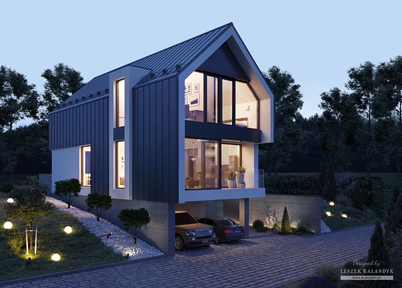 Projekt domu LK&1710