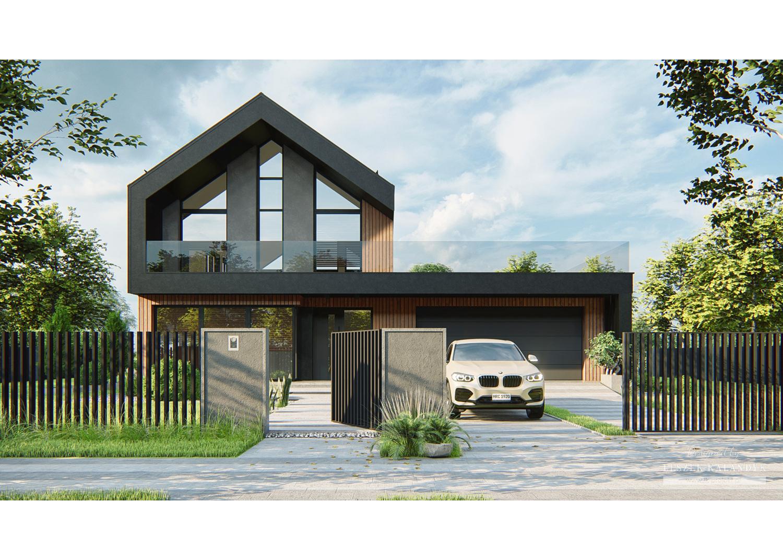 Projekt domu LK&1712