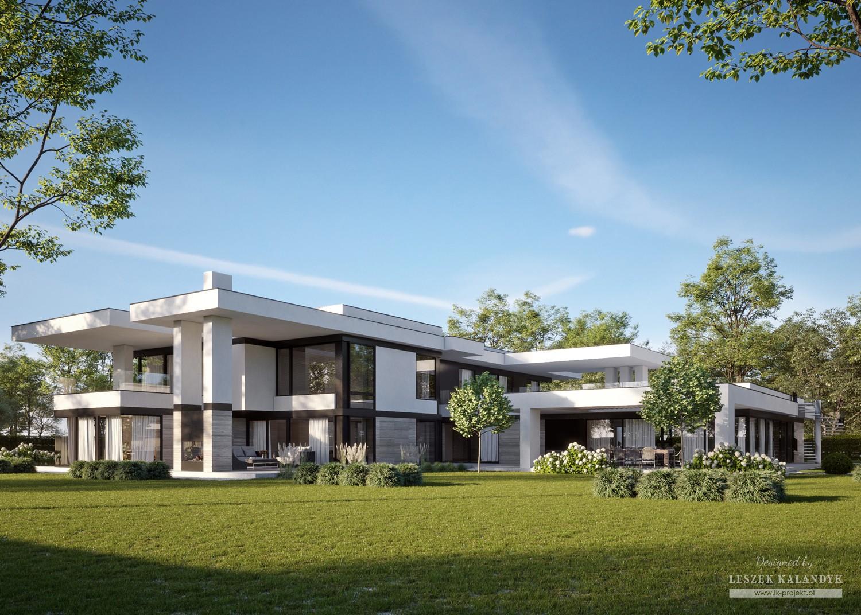 Projekt domu LK&1717