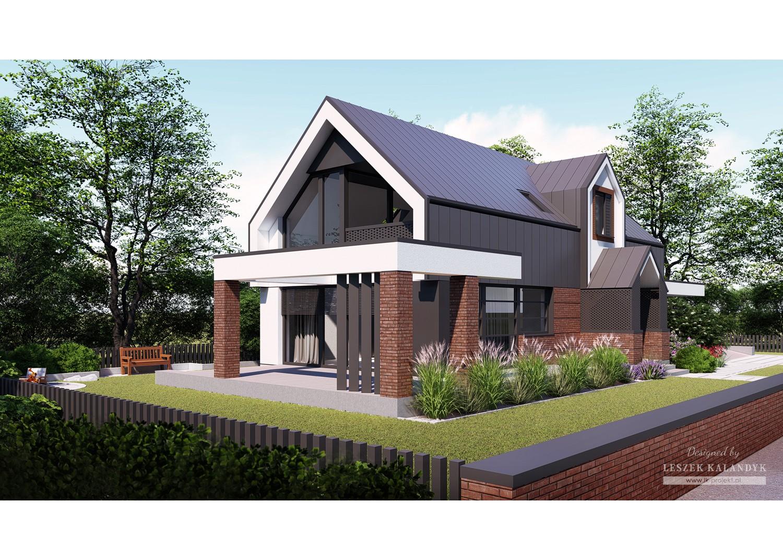Projekt domu LK&1726