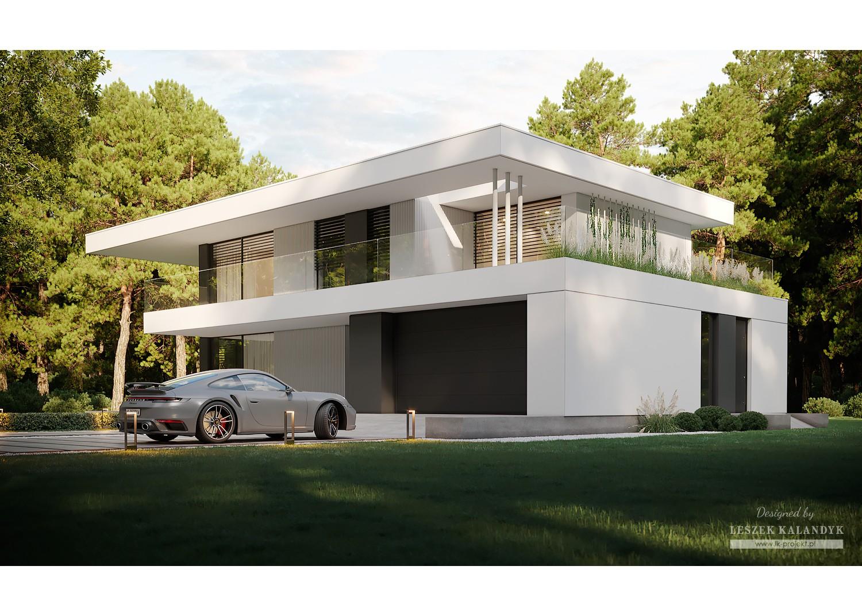 Projekt domu LK&1729
