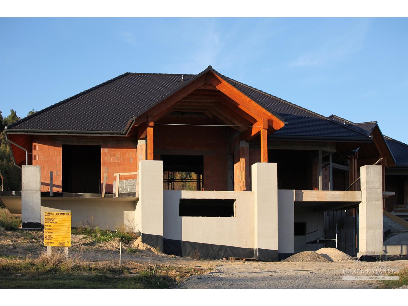 Projekt domu LK&713