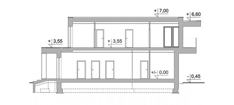Projekt domu LK&1449