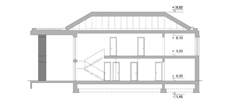 Projekt domu LK&1418