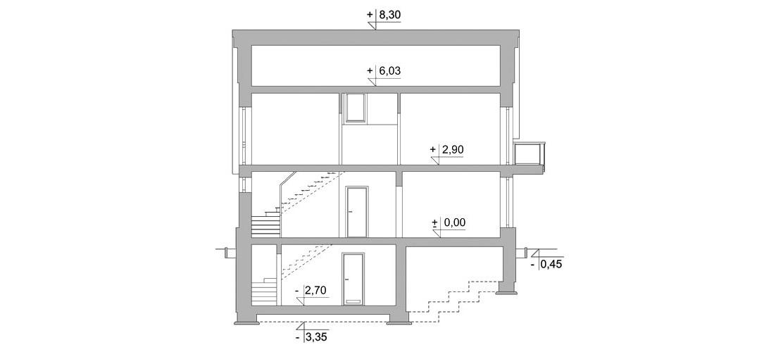 Projekt domu LK&762