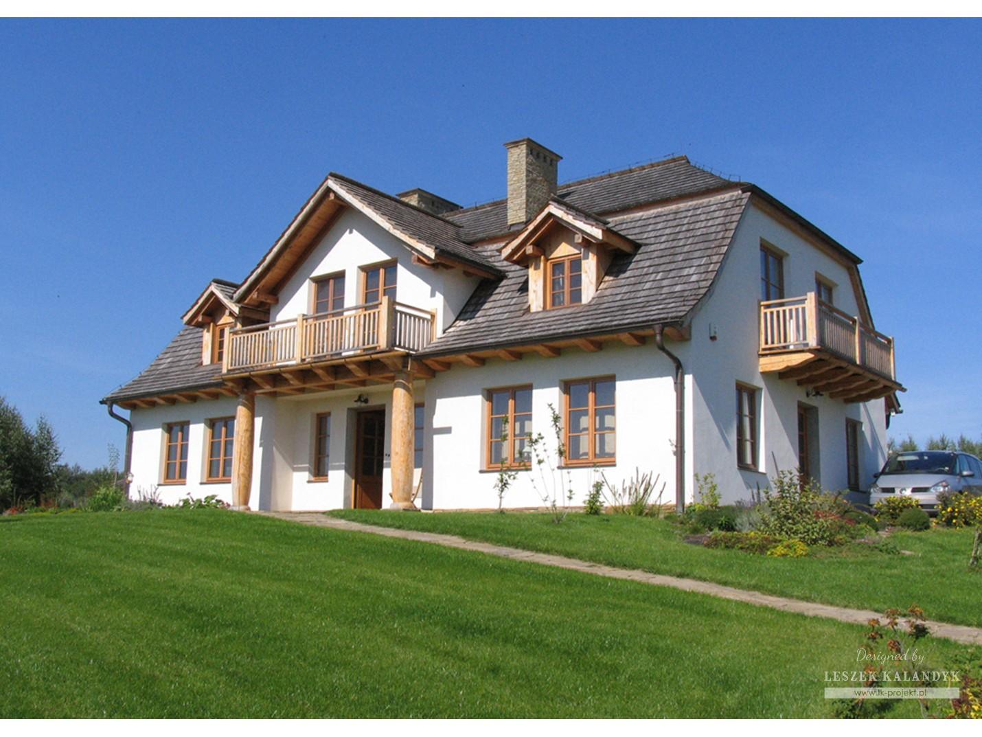 Projekt domu LK&321
