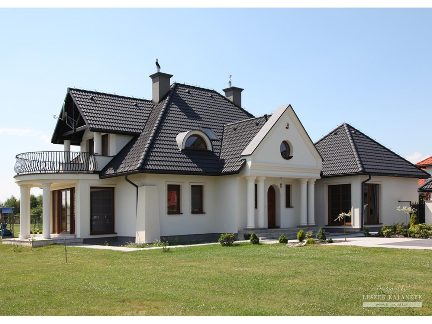 Projekt domu LK&327