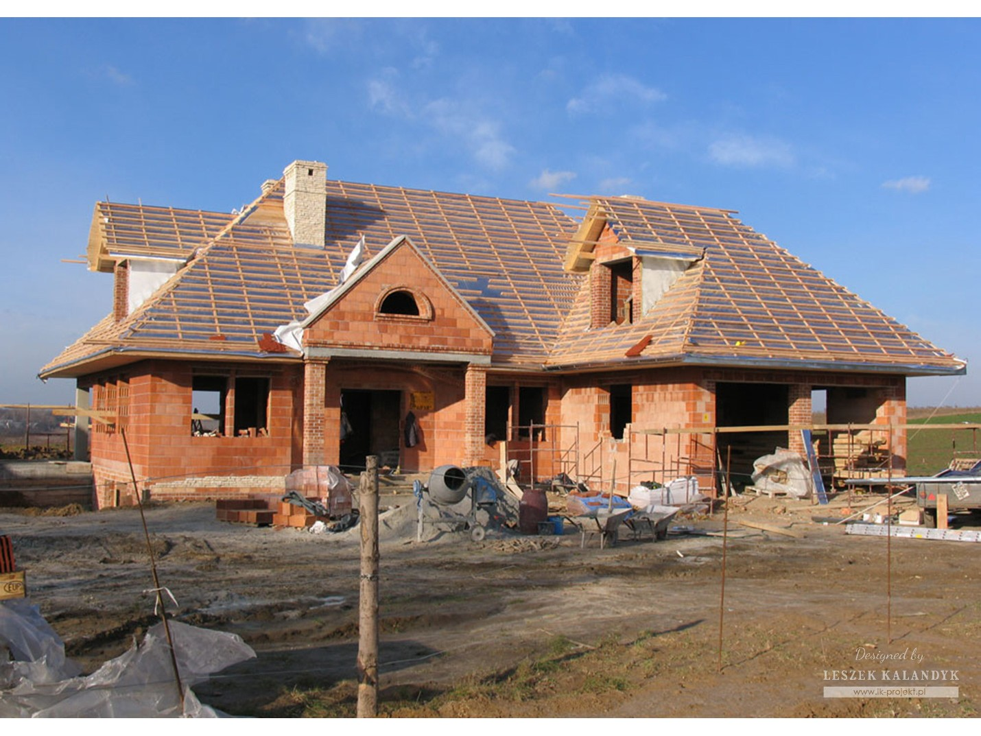 Projekt domu LK&520