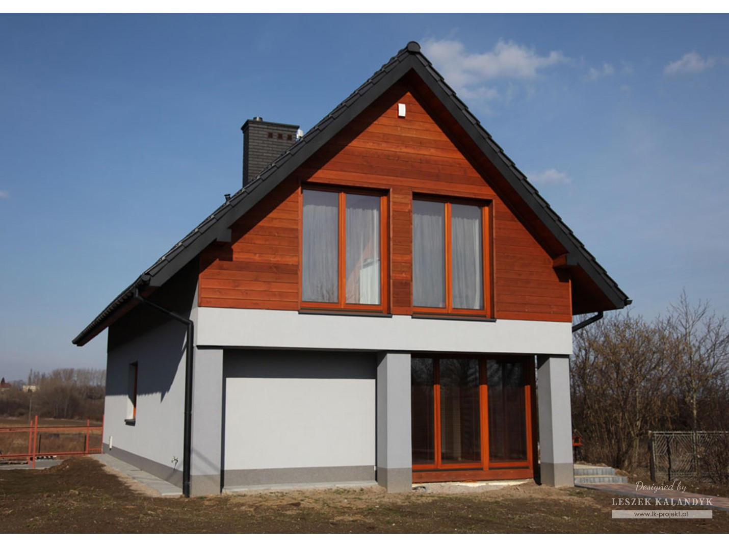 Projekt domu LK&408