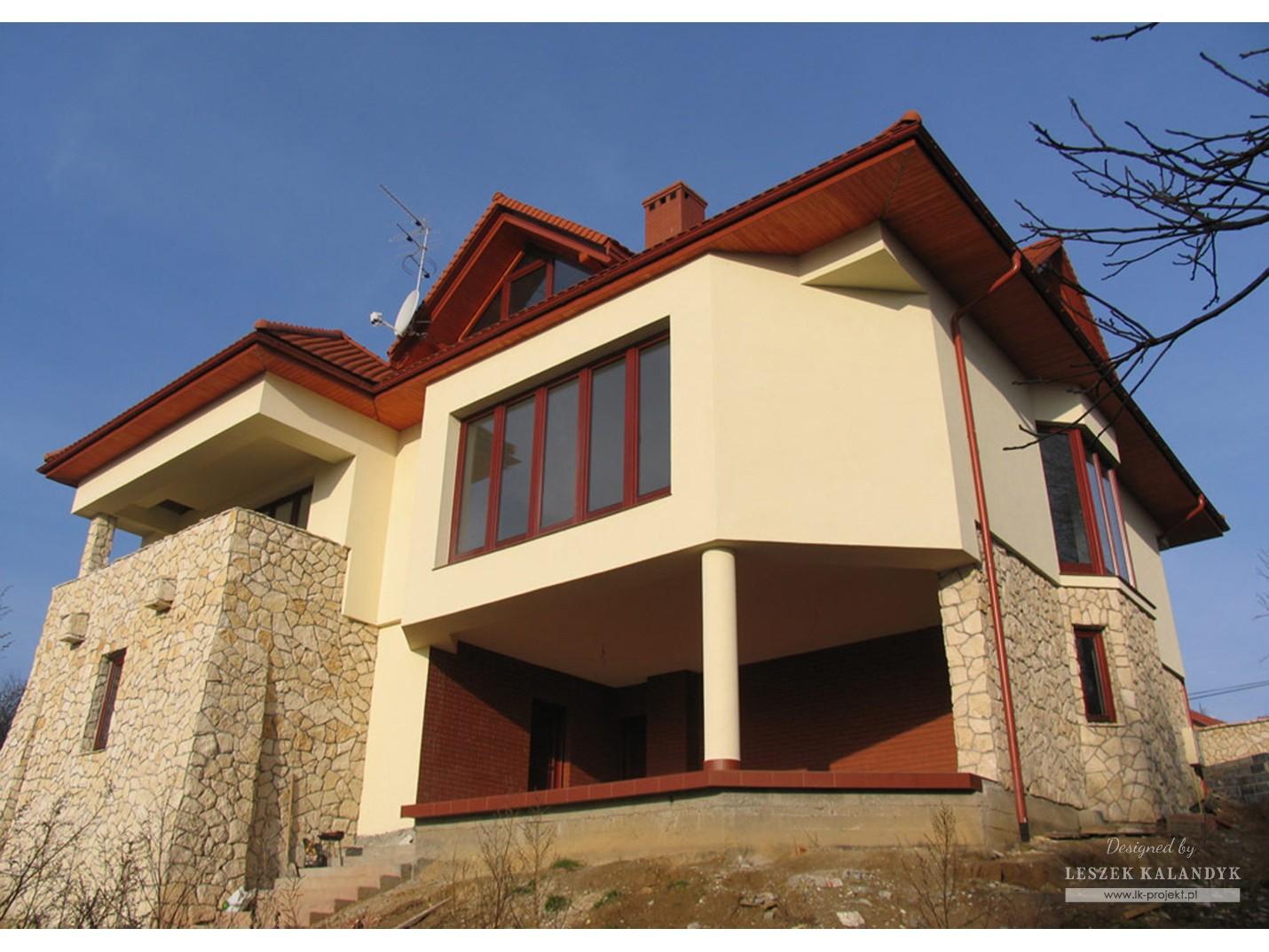 Projekt domu LK&388
