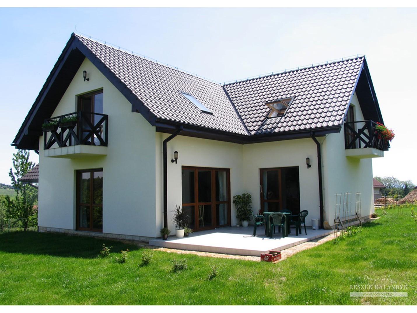 Projekt domu LK&387