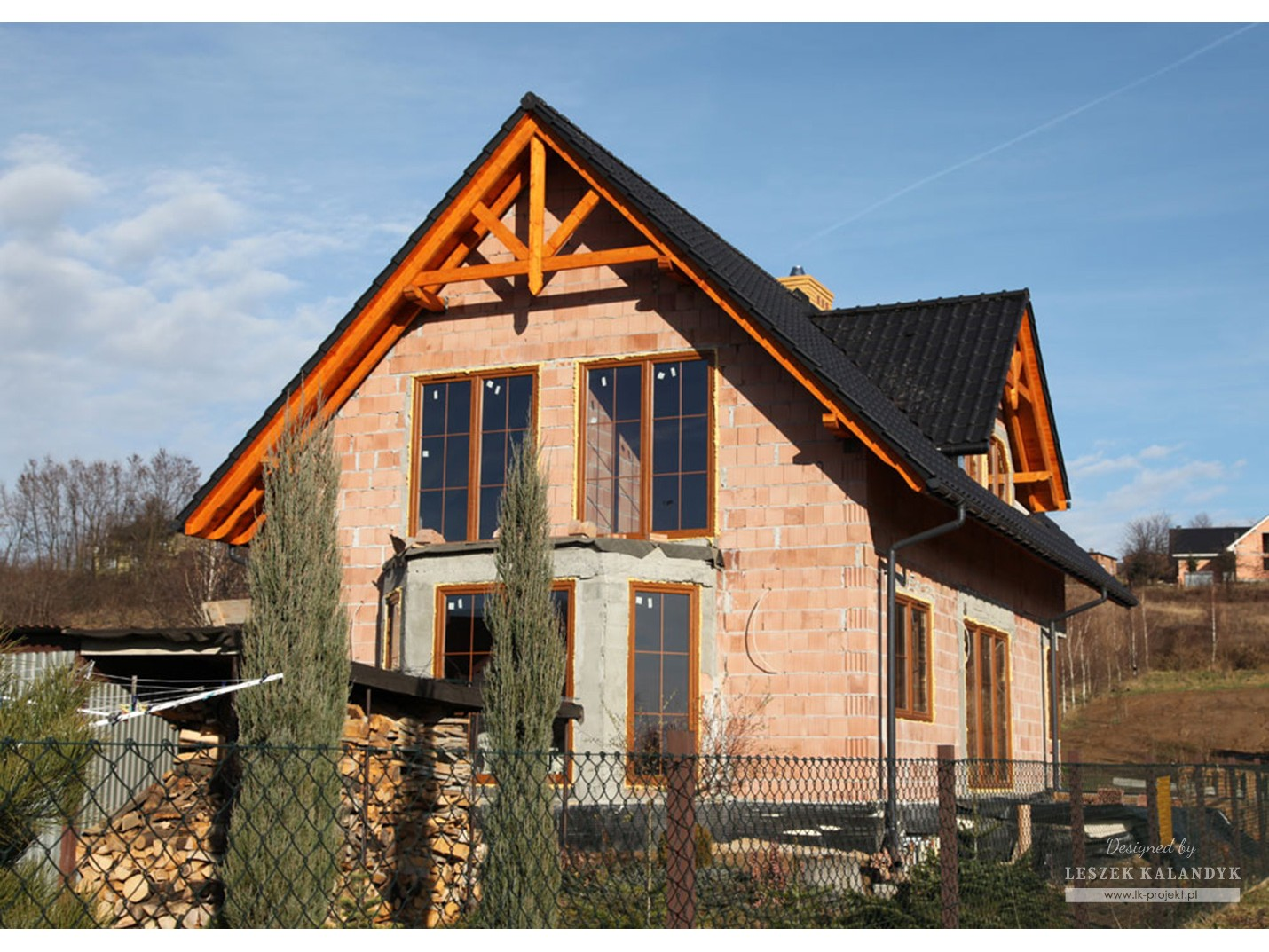 Projekt domu LK&657