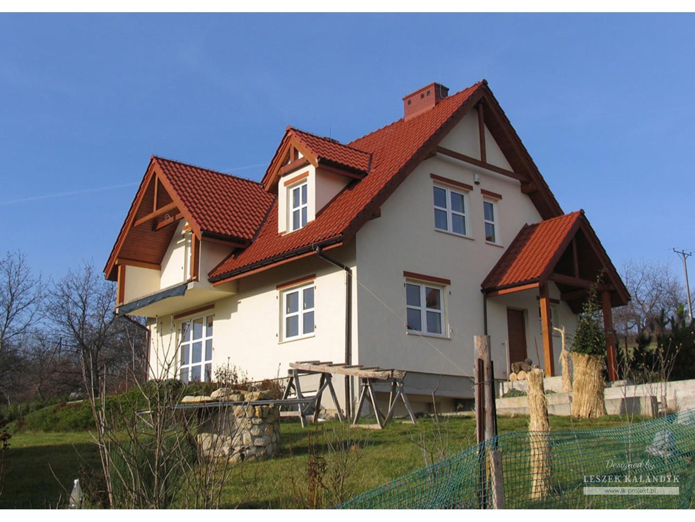 Projekt domu LK&219