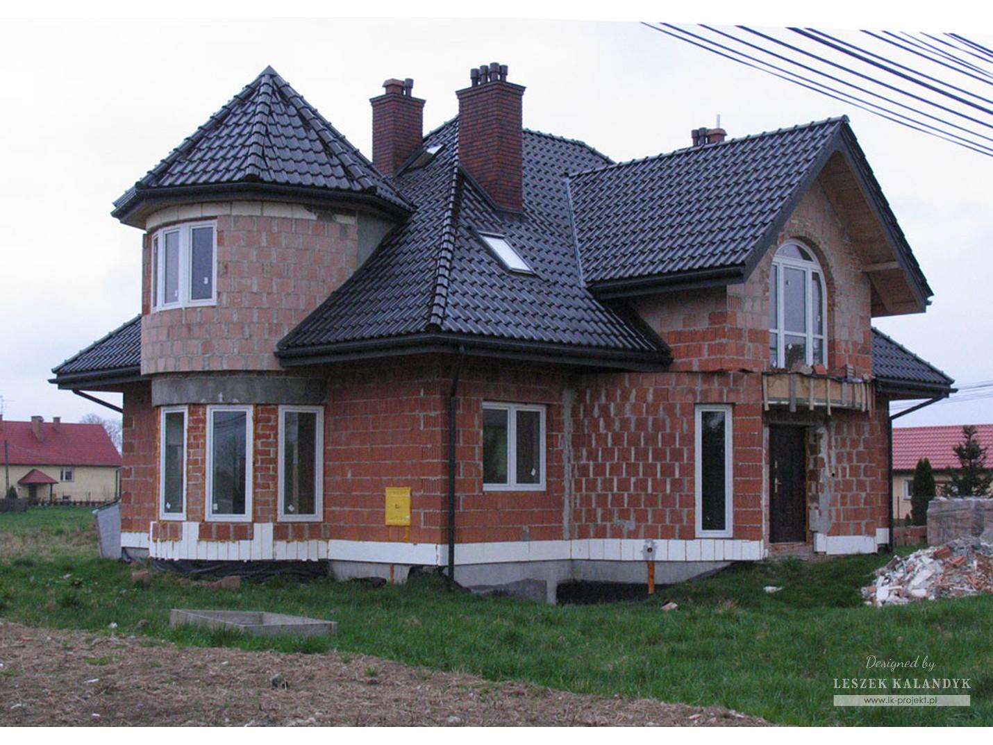 Projekt domu LK&355