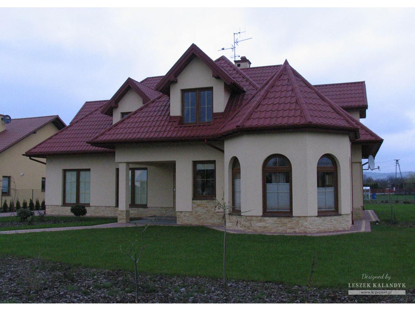 Projekt domu LK&270