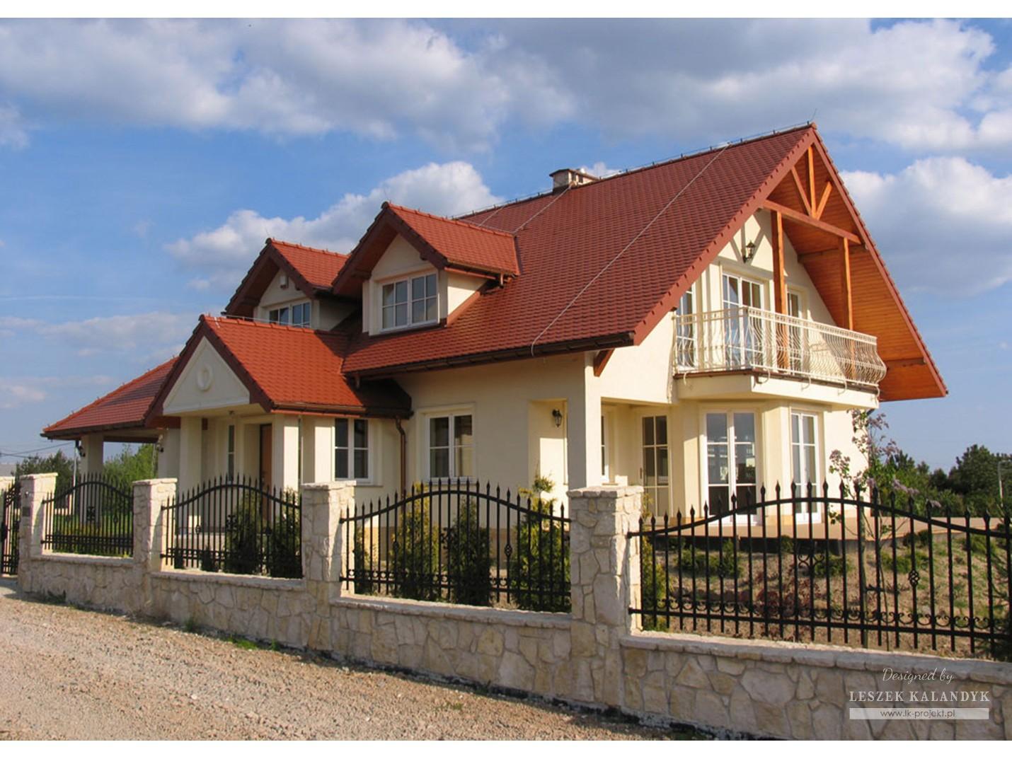 Projekt domu LK&250