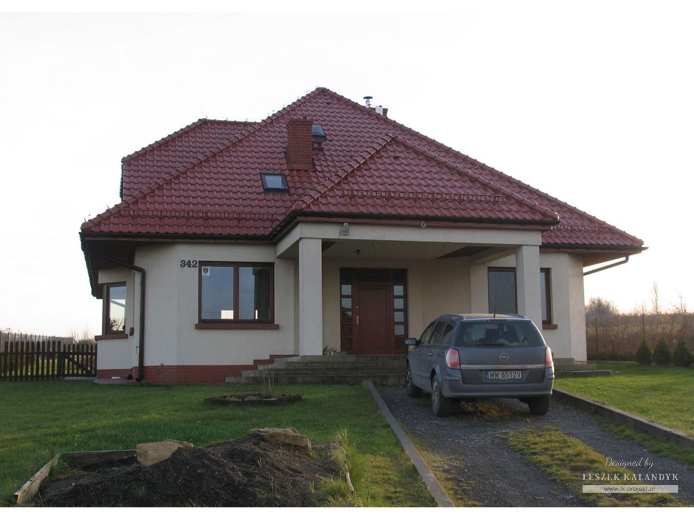 Projekt domu LK&242
