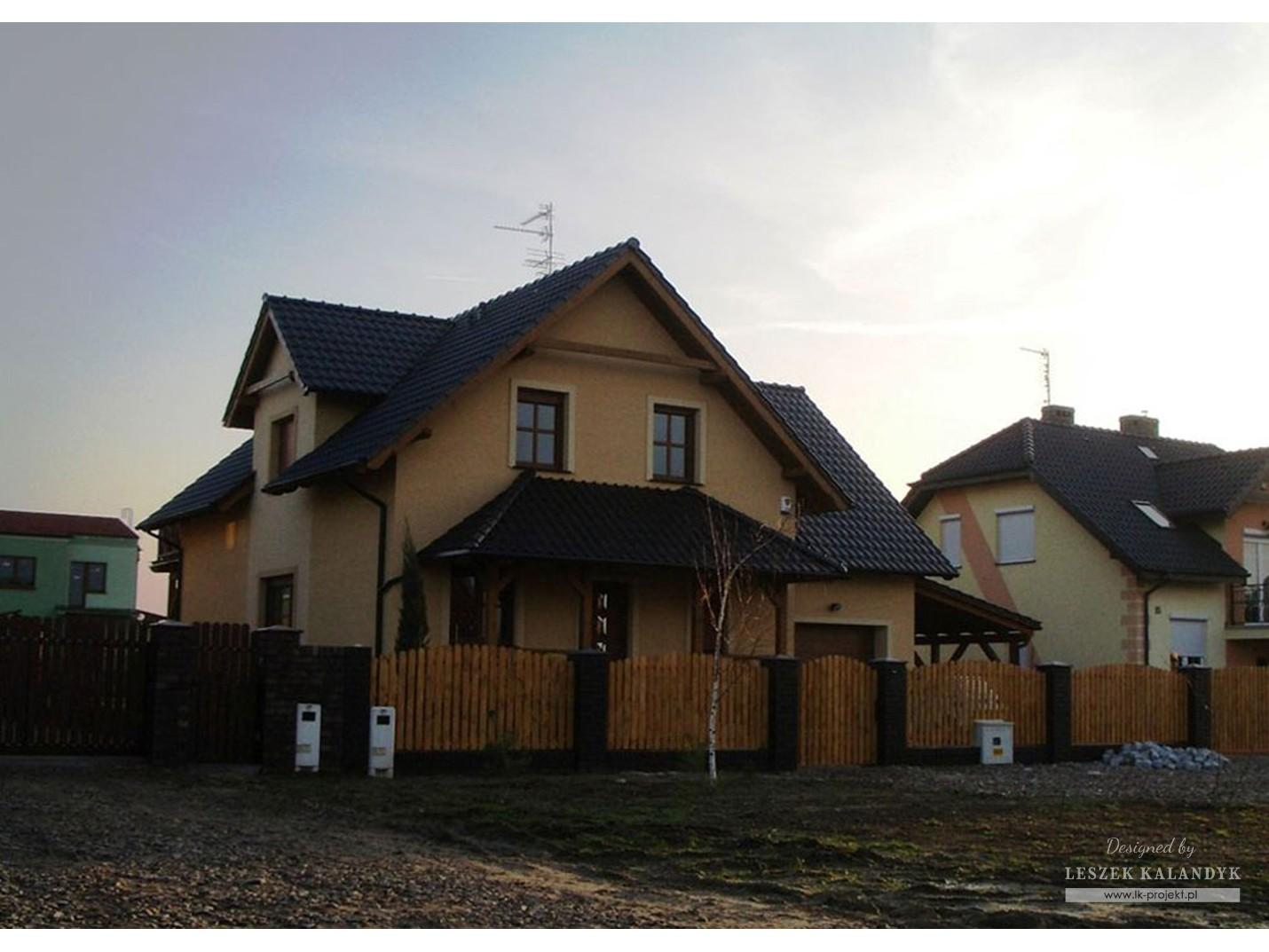 Projekt domu LK&201