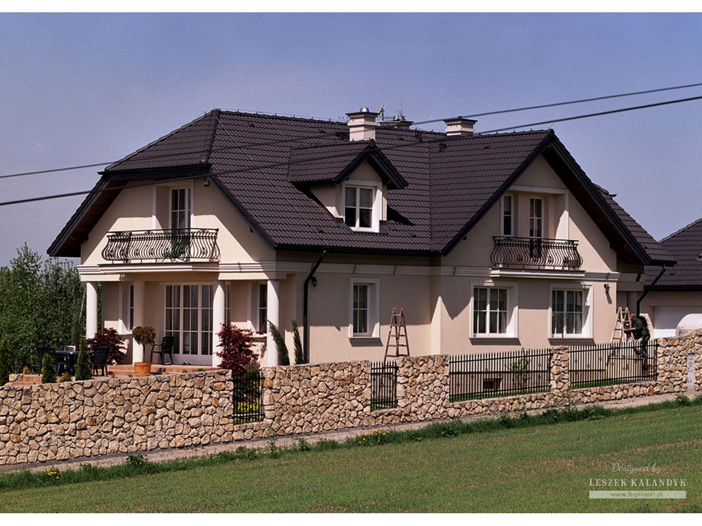 Projekt domu LK&186
