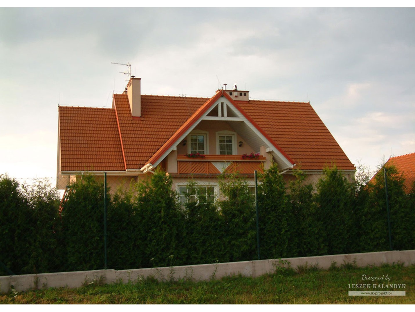 Projekt domu LK&134