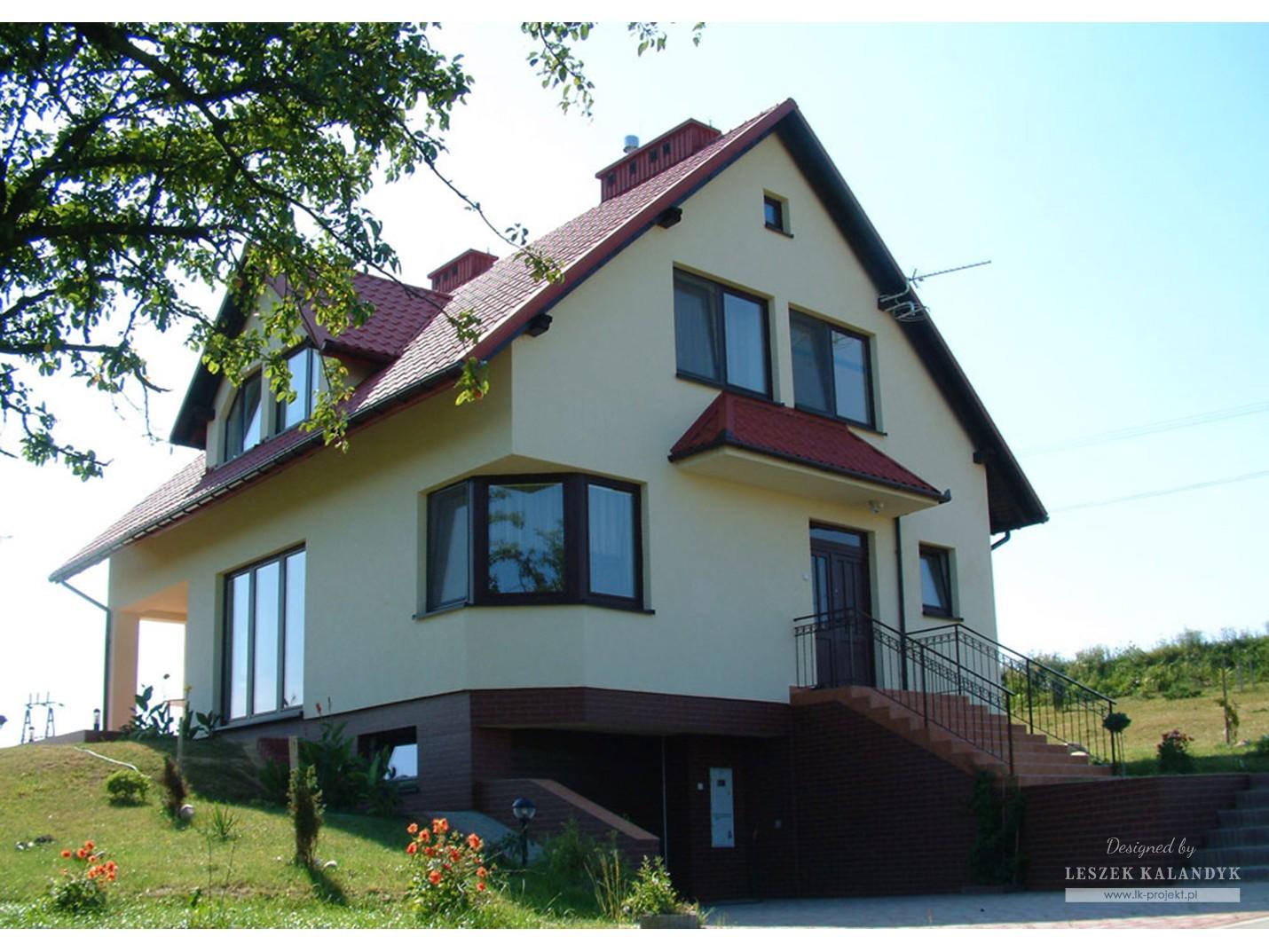 Projekt domu LK&132