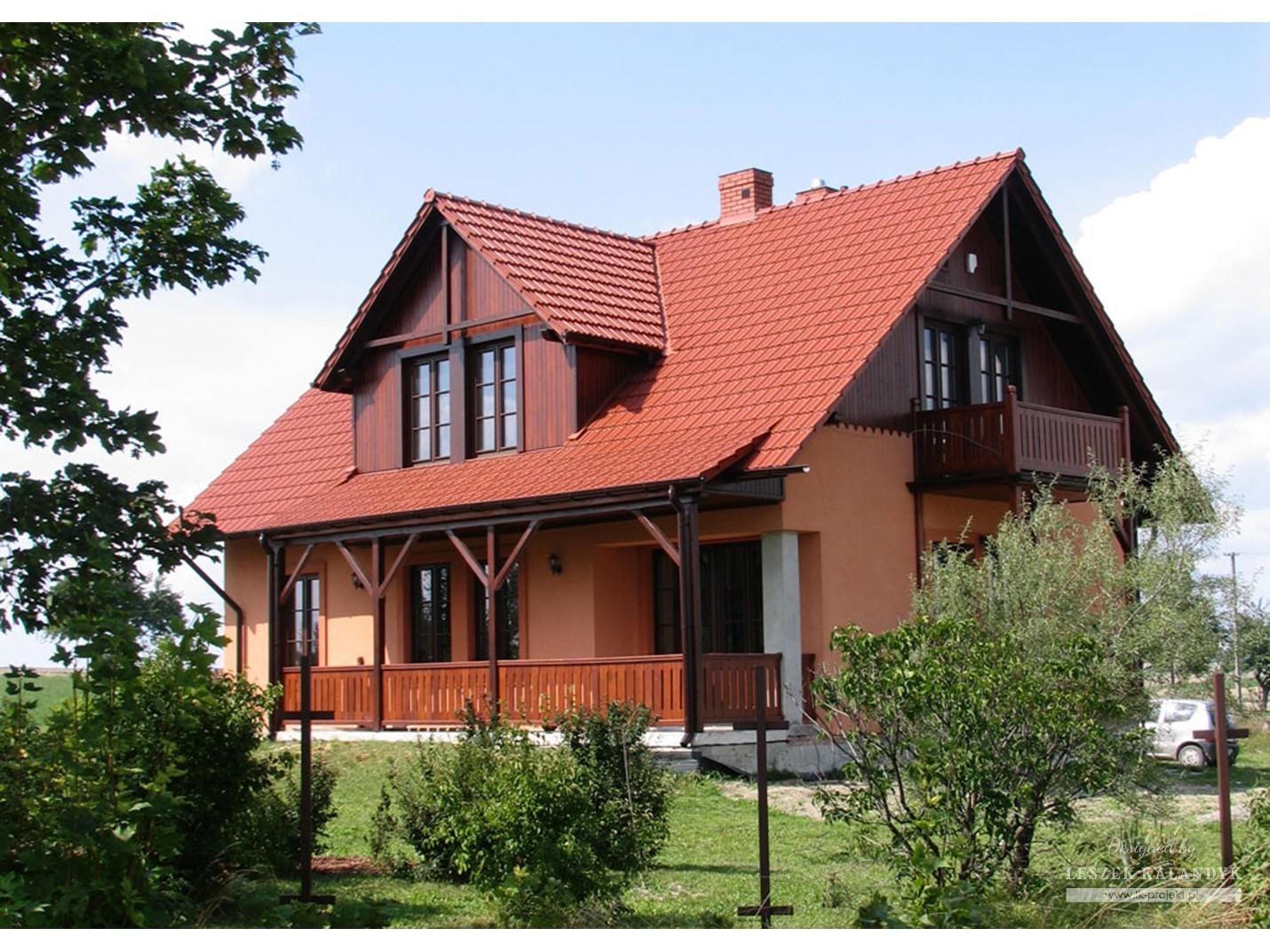 Projekt domu LK&86