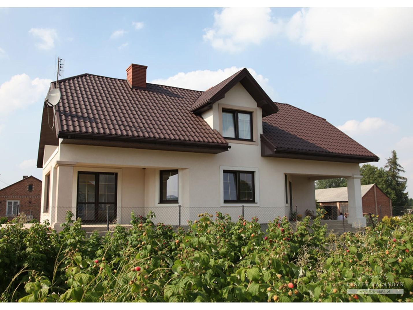 Projekt domu LK&271