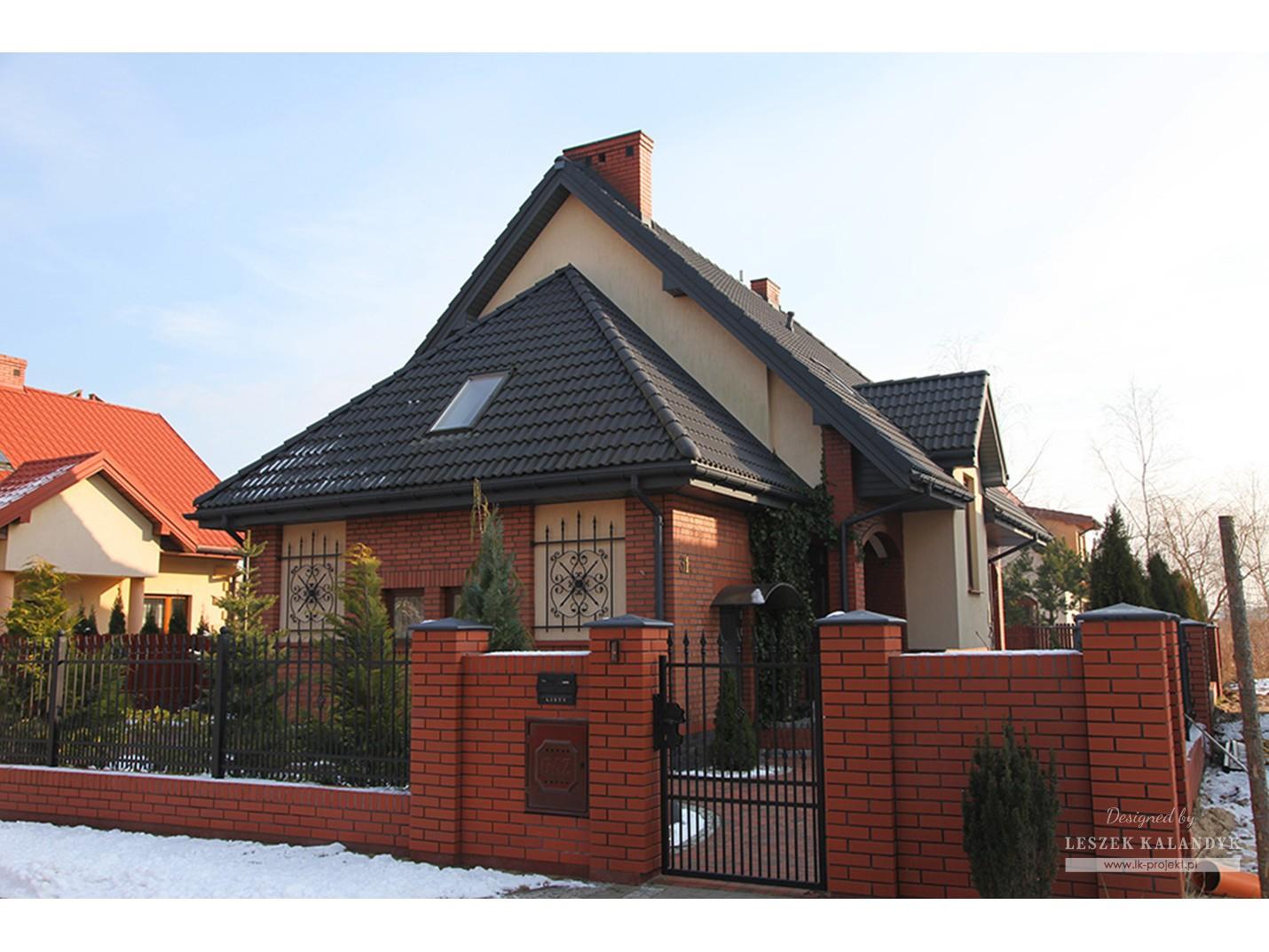 Projekt domu LK&193