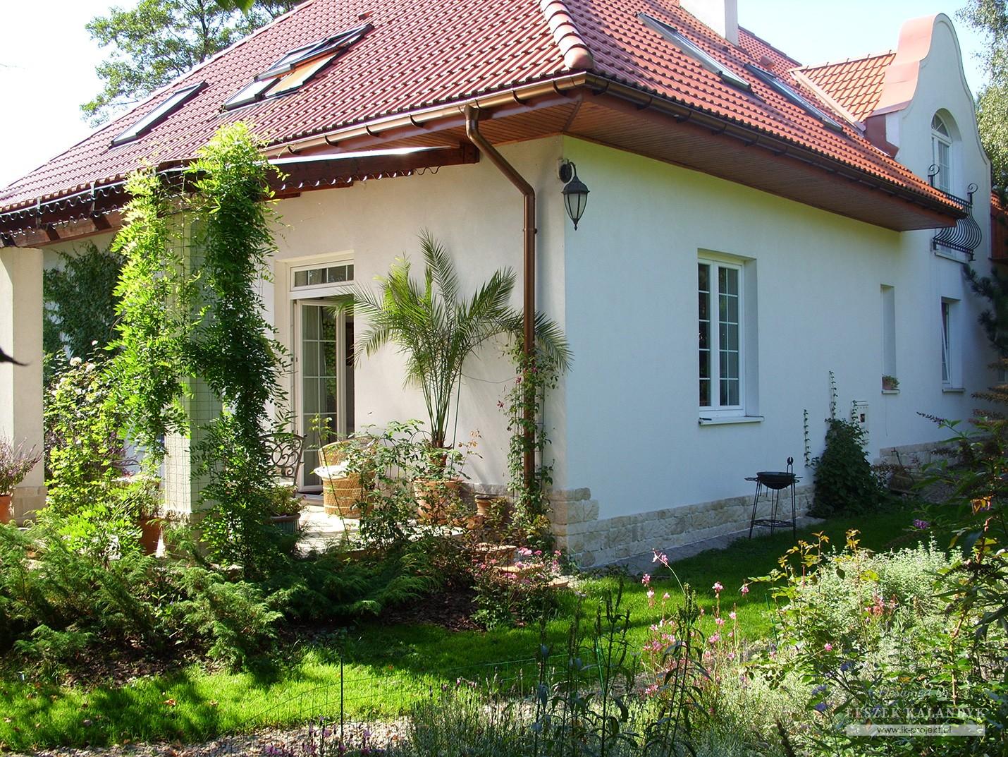 Projekt domu LK&558