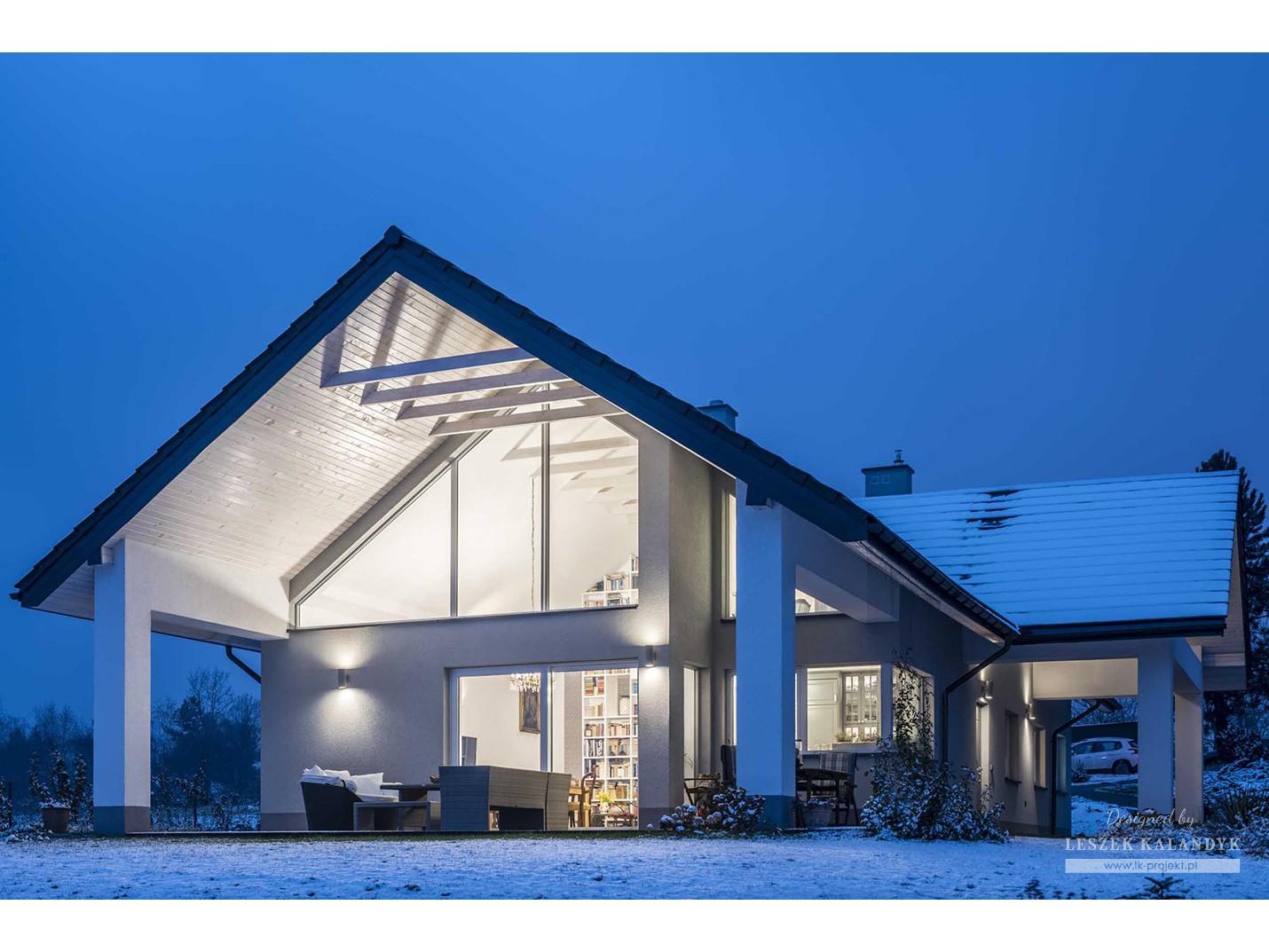 Projekt domu LK&1144