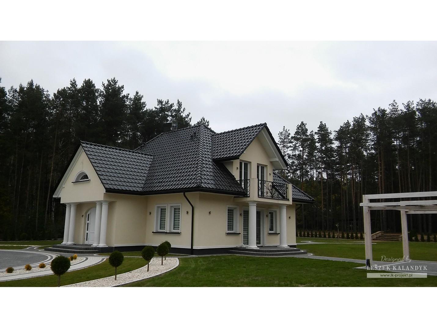 Projekt domu LK&796