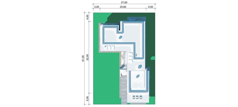 Projekt domu LK&1513