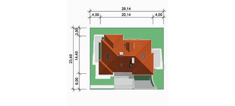Projekt domu LK&332