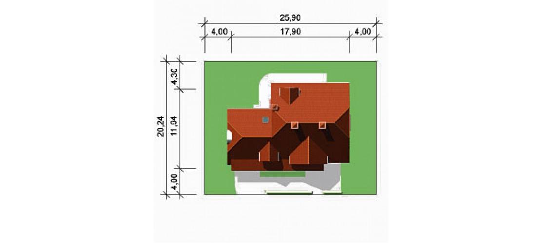 Projekt domu LK&339